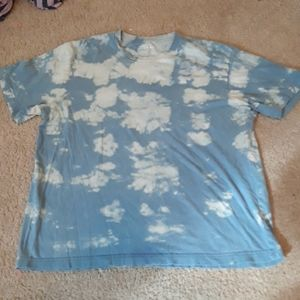 Hand bleached tee